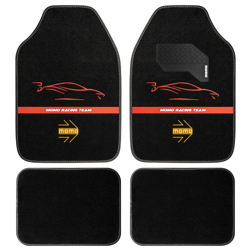 RACING Black/Red (Set of 4)