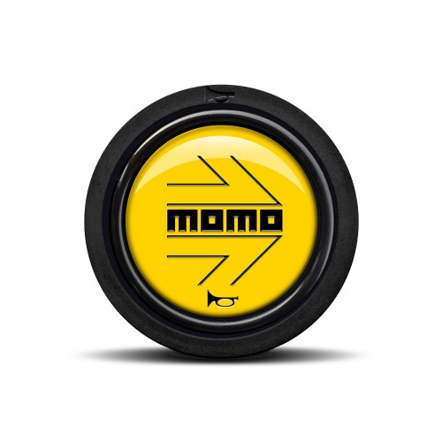 MOMO ARROW Black Yellow (Flat Lip)