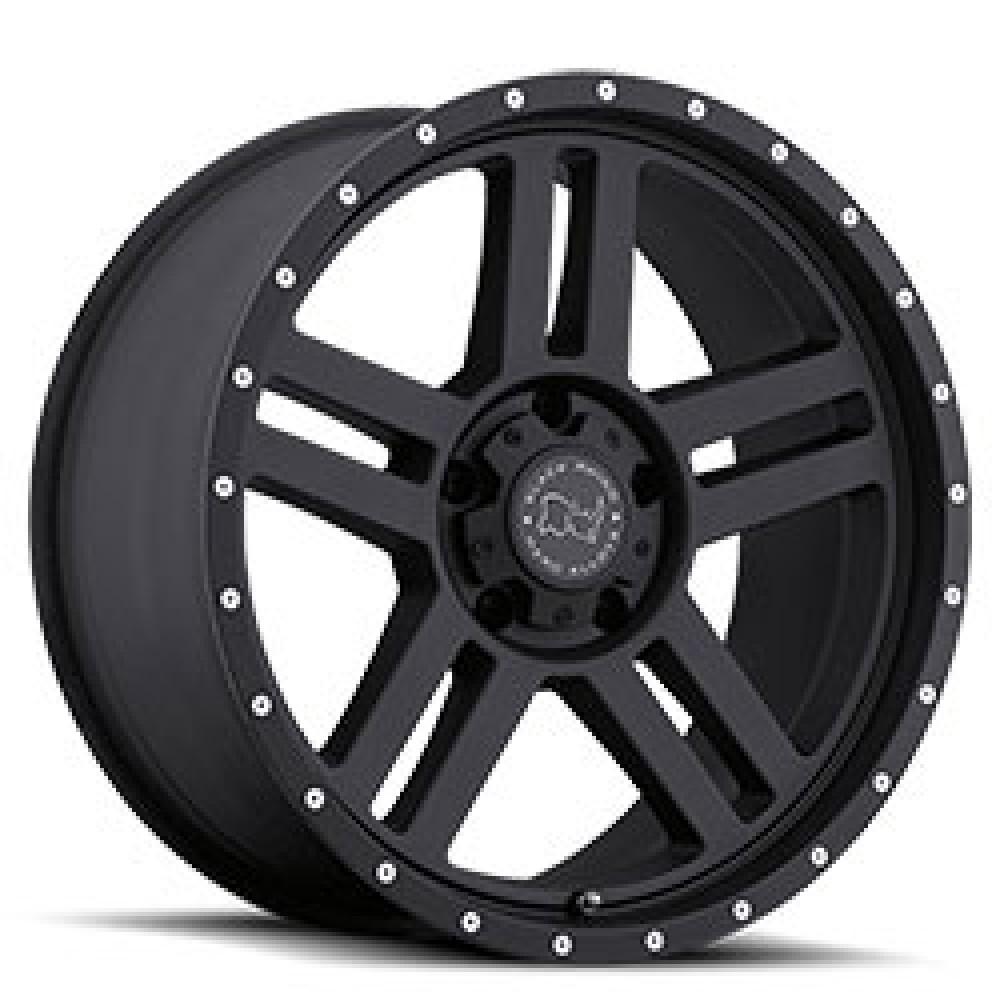 4X BLACK RHINO MOJAVE BLACK 20X9 4X4 WHEELS FITS HILUX PRADO RANGER COLORADO at FUEL AUTOTEK