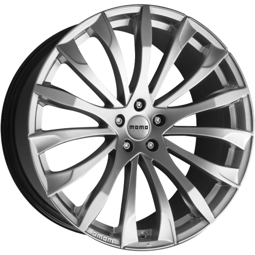 4X MOMO STING SILVER 19X8.5 WHEELS FITS FALCON BA BF LEXUS IS CAMRY JAP 5 STUD