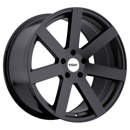 4X TSW BARDO MATTE BLACK 18X8.5 WHEELS FITS SELECTED AUDI AND MERCEDES BENZ