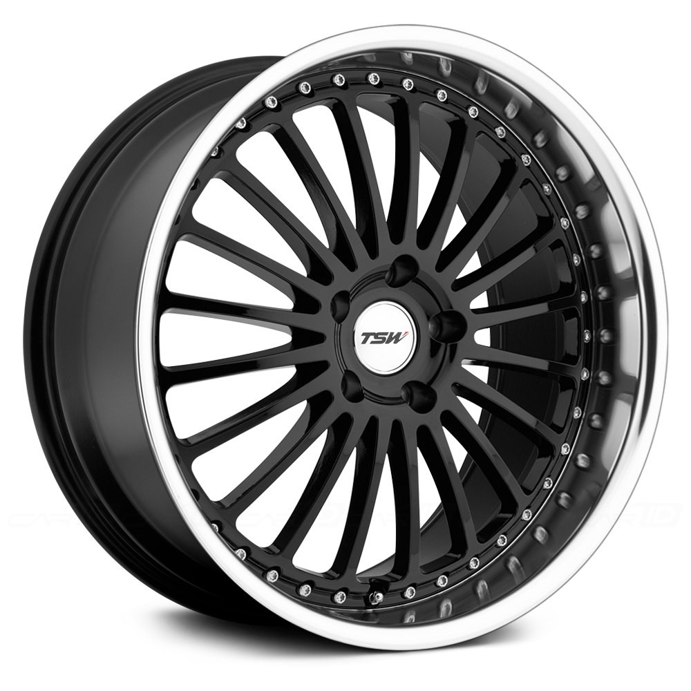 4X TSW SILVERSTONE BLACK 19X8 WHEEL FIT SELECTED VOLVO MODEL FORD FOCUS MONDEO at FUEL AUTOTEK