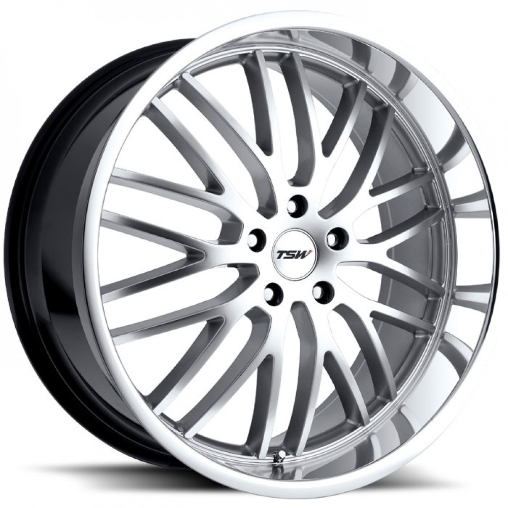 4X TSW SNETTERTON SILVER 19X8 WHEELS FIT SELECTED VOLVO MODEL FORD FOCUS MONDEO at FUEL AUTOTEK