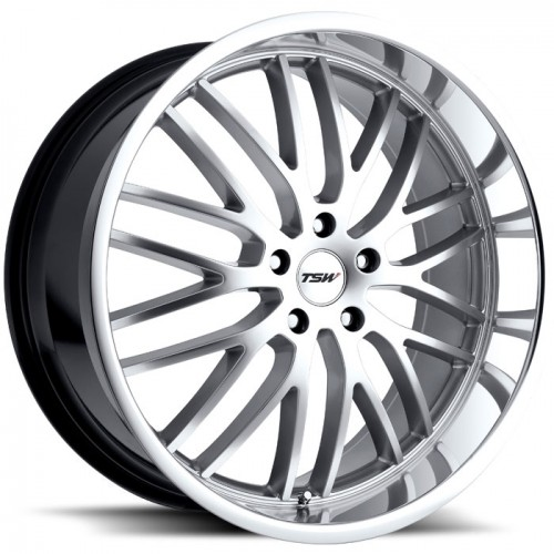 4X TSW SNETTERTON SILVER 19X8 WHEELS FIT SELECTED VOLVO MODEL FORD FOCUS MONDEO