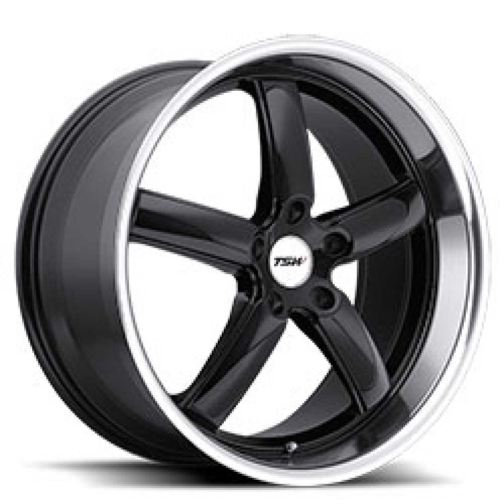 4X TSW STOWE BLACK 18X8 WHEELS FITS SELECTED FORD FALCON FG FGX at FUEL AUTOTEK