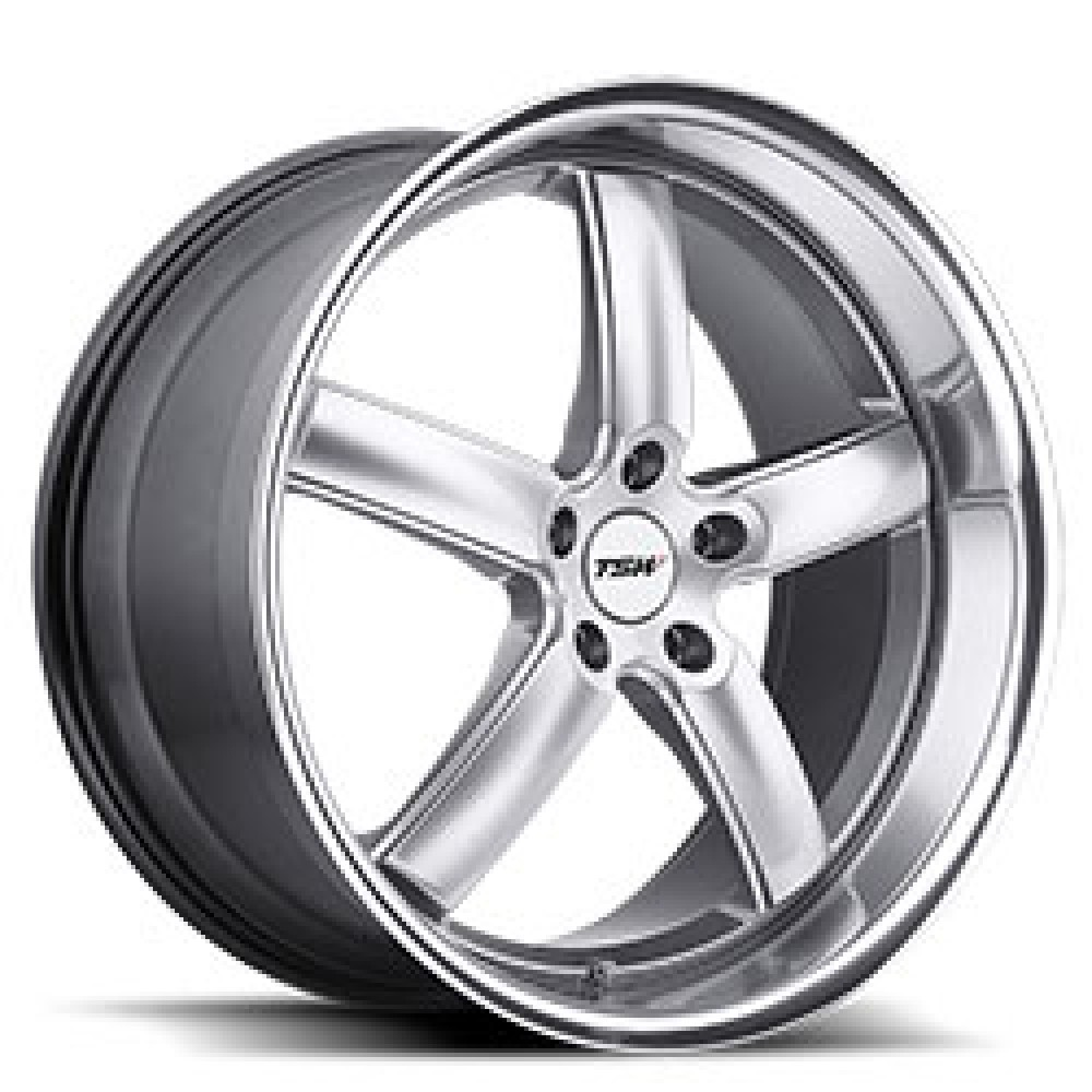 4X TSW STOWE SILVER 18X8 WHEELS FITS SELECTED BMW 3 SERIES AND COMMODORE at FUEL AUTOTEK