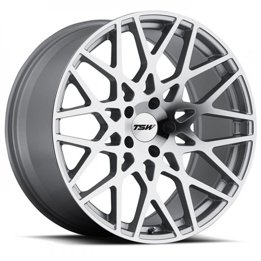 4X TSW VALE SILVER 18X8.5 WHEELS FITS SELECTED VOLVO MODEL FORD FOCUS MONDEO at FUEL AUTOTEK