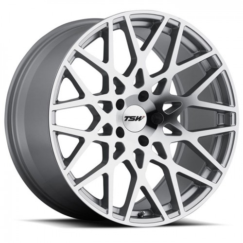 4X TSW VALE SILVER 18X8.5 WHEELS FITS SELECTED VOLVO MODEL FORD FOCUS MONDEO