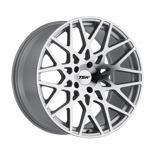 4X TSW VALE SILVER 19X8.5 WHEELS FITS SELECTED BMW MODELS COMMODORE VE VF