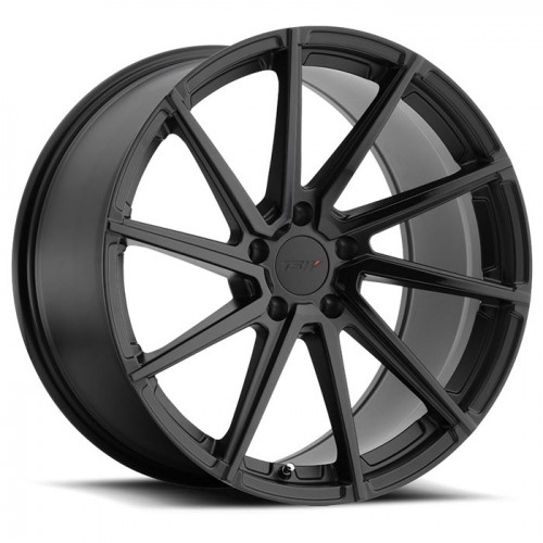 4X TSW WATKINS DOUBLE BLACK 19X9 + 19X9.5 WHEELS FITS FORD MUSTANG GT, ECOBOOST
