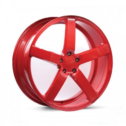 4X VOSSEN CV3-R RED 22X9 WHEELS FITS VW AMAROK LAND ROVER RANGE ROVER MODELS