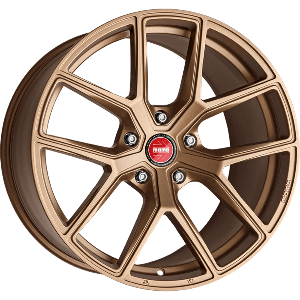 4x MOMO ITALY RF-01 GOLDEN BRONZE 20x9 20x10 WHEELS FITS FORD MUSTANG GT, ECO BO at FUEL AUTOTEK