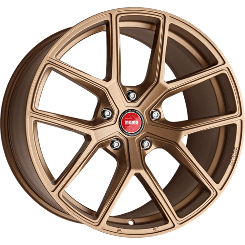 4x MOMO ITALY RF-01 GOLDEN BRONZE 20x9 20x10 WHEELS FITS FORD MUSTANG GT, ECO BO