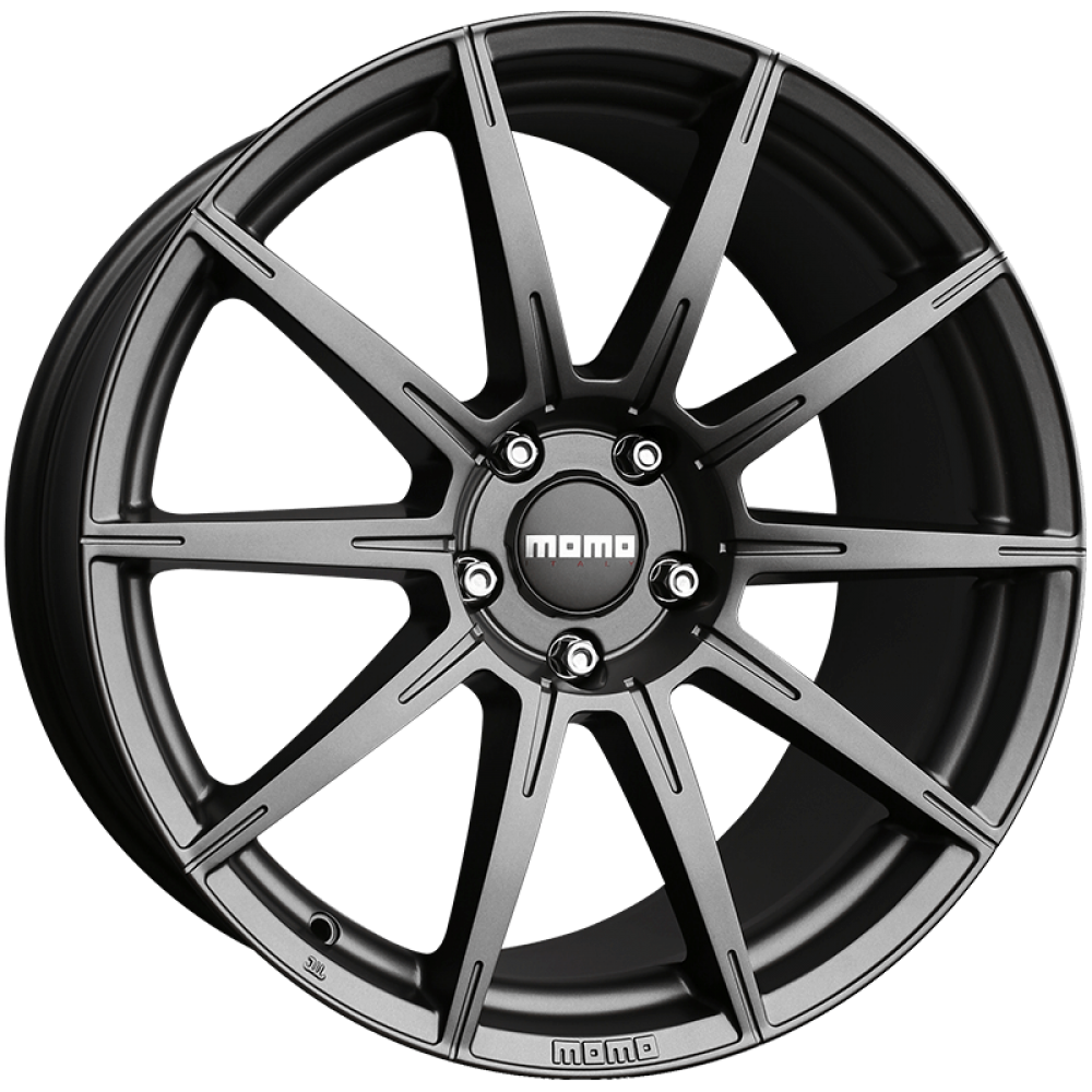 4x MOMO ITALY RUSH MATTE ANTHRACITE 20x9 20x10 WHEELS FITS FORD MUSTANG FALCON Large Image