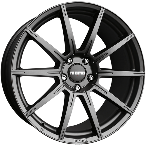 4x MOMO ITALY RUSH MATTE ANTHRACITE 20x9 20x10 WHEELS FITS FORD MUSTANG FALCON