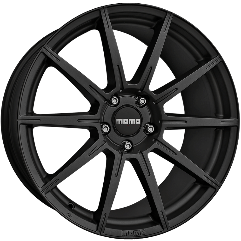 4x MOMO ITALY RUSH MATTE BLACK 20x9 20x10 WHEELS FITS FORD MUSTANG FALCON at FUEL AUTOTEK
