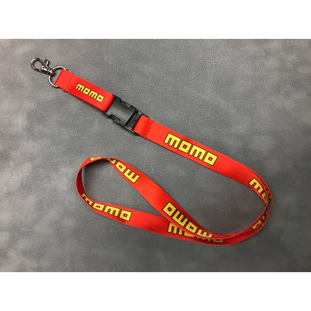 MOMO Red & Yellow Lanyard at FUEL AUTOTEK