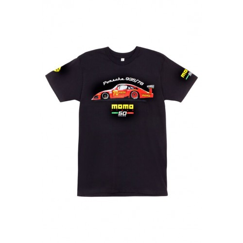 MOMO MOBY DICK TEE Black