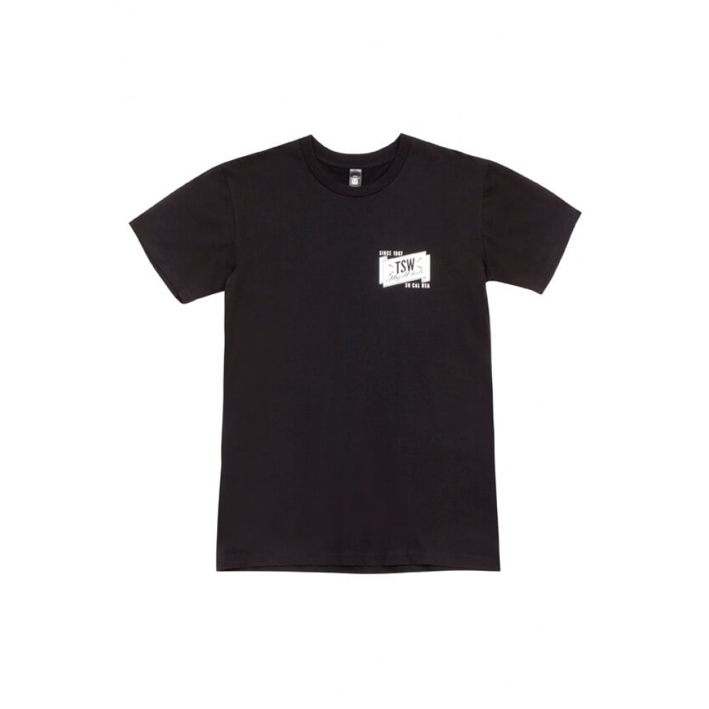 TSW BANNER TEE Black at FUEL AUTOTEK