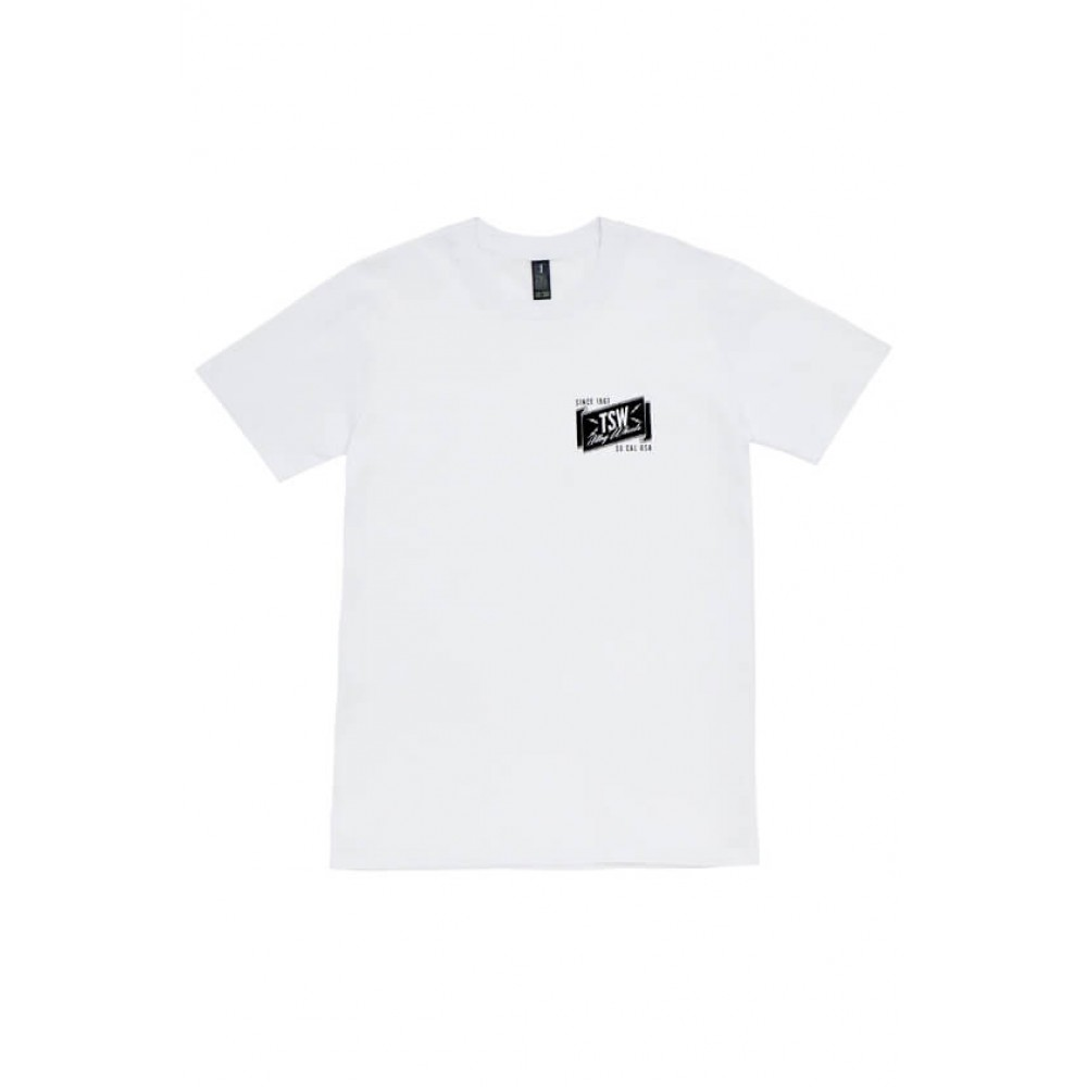 TSW BANNER TEE White at FUEL AUTOTEK