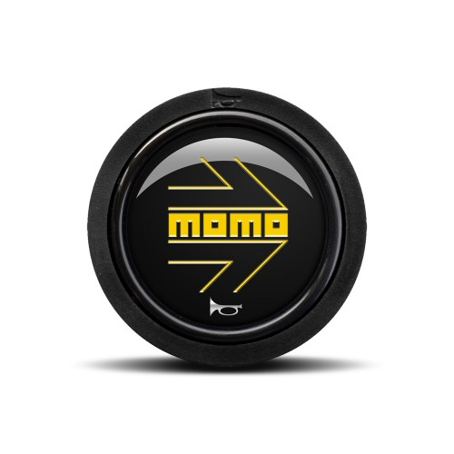 MOMO ARROW Polished Black (Flat Lip / Two Point)