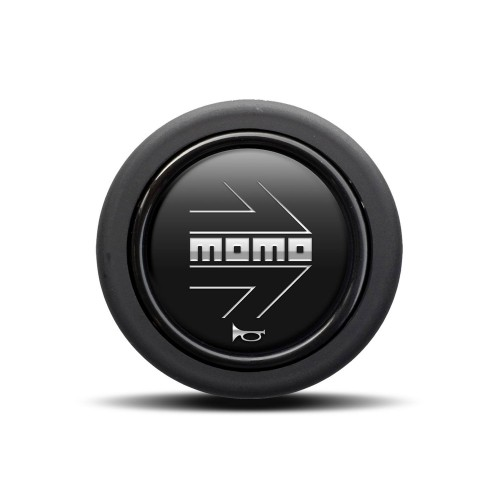 MOMO ARROW Matte Black (Round Lip)