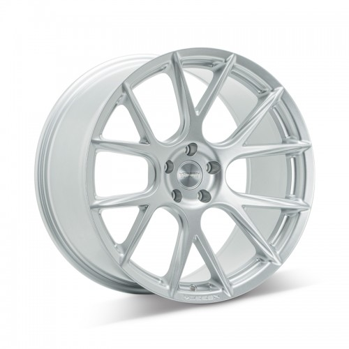 Set of 4 VOSSEN VFS6 in SILVER METALLIC at FUEL AUTOTEK